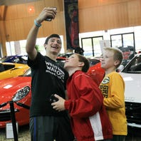 Superheroes, kids' fun makes Delaware Auto Show family friendly