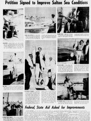 """""""Petition signed to improve Salton Sea conditions,"""" appeared in the May 1, 1970, issue of The Desert Sun."""