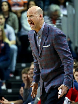 Andy Kennedy witnessed Ole Miss fall to 2-2 in SEC play after being outscored by 25 points in the second half against Auburn.