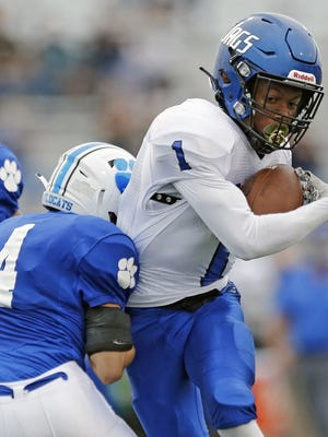 Kenyon Richardson and Hilliard Bradley are preparing for the program's first matchup against Olentangy Liberty. The Jaguars visit the Patriots on Friday, Sept. 18.