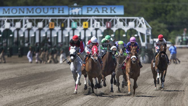 Horses stabled at Monmouth Park will not be allowed to ship to run at Suffolk Downs in Boston.