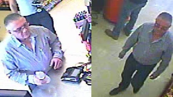Scott police are looking for a suspect who allegedly used a stolen credit card to buy items at three stores around Lafayette in September.