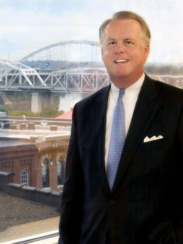 Terry Turner is CEO of Pinnacle Financial Partners, which ranks No. 3 among Nashville area banks.