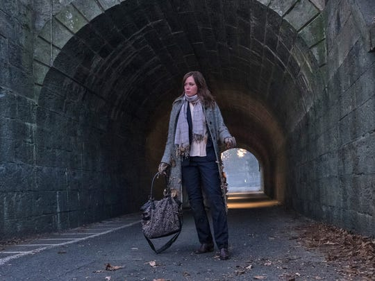 Emily Blunt's character, Rachel, straggles through Irvington's Station Road tunnel, which is below the path of the Old Croton Aqueduct.