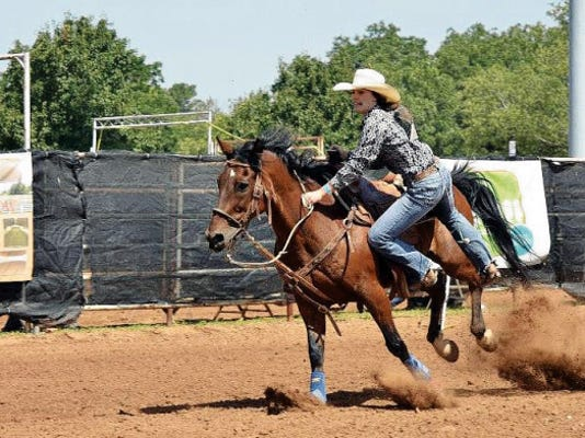Corona cowgirl Saige Bell will compete at International Finals Youth Rodeo in Shawnee, OK, July 5-10, and in pole bending and goat tying at the National High School Rodeo Association finals in Rock Springs, WY, July 11-16.