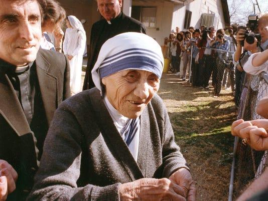Mother Teresa  Phoenix visit 1989