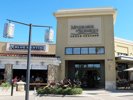 Easter Sunday was the last day of business for McCormick & Schmick's restaurant and bar at Mercato in North Naples.