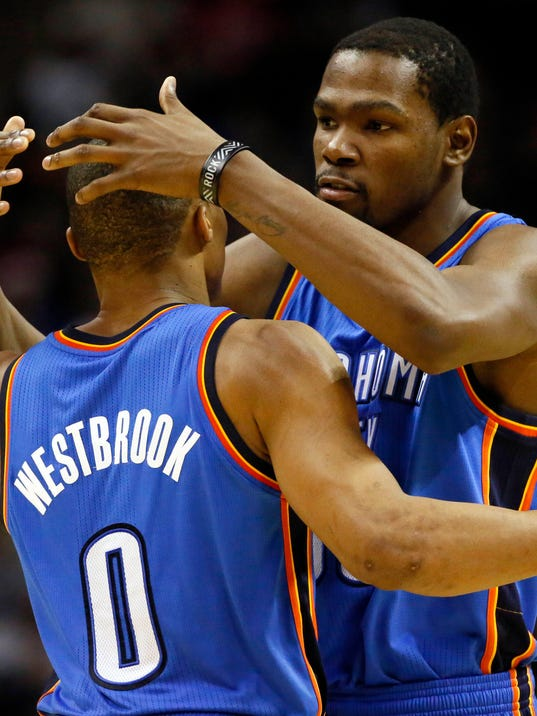 Kevin Durant And Russell Westbrook Best Friends Kevin durant excited for