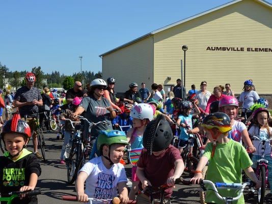 Aumsville Bike to School Day