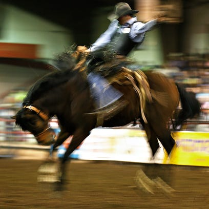 Fairgrounds busy this weekend with rodeo, Spring Roundup