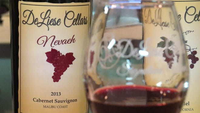 DeLiese Cellars launched with a field-blended cabernet sauvignon made with grapes grown in the Malibu Coast AVA, or American Viticultural Area. The label produces its wines in Lodi for a newly opened tasting room in Thousand Oaks.