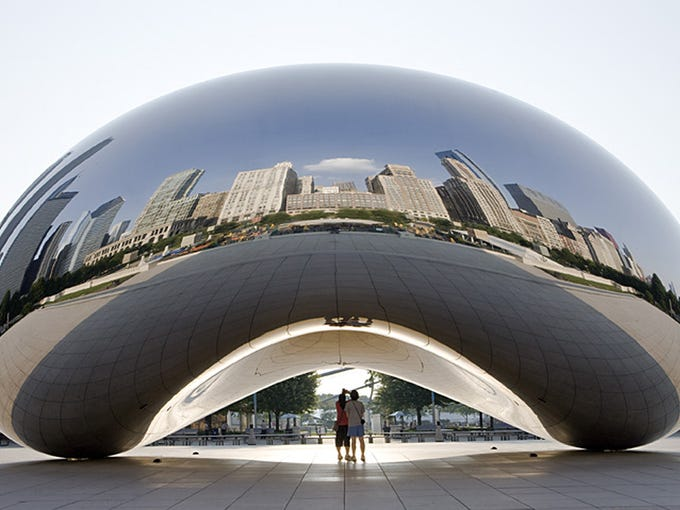 Chicago | Be a reverse snowbird. While Chicagoans are