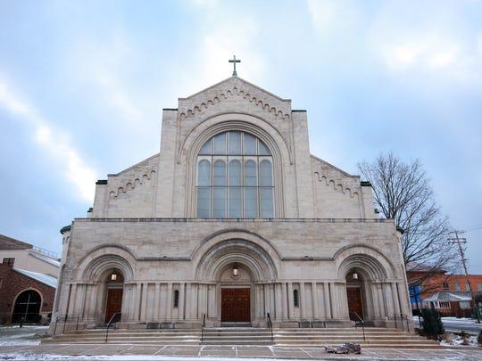 St. Philip Catholic Church on Sunday morning.