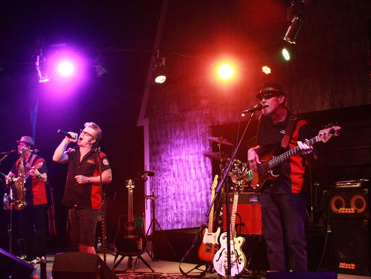 Billy Mack and the Juke Joint Johnnies perform at Backroads