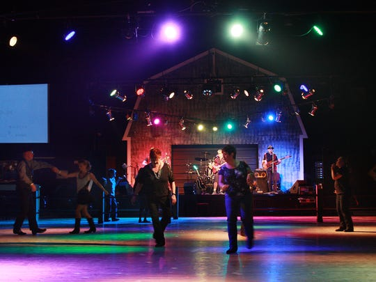 Billy Mack and the Juke Joint Johnnies perform at Backroads Saloon in Marshall Friday evening.