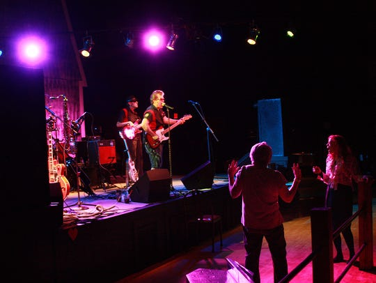 Billy Mack and the Juke Joint Johnnies performs at