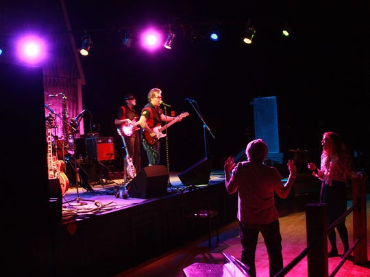 Billy Mack and the Juke Joint Johnnies performs at Backroads Saloon in Marshall Friday evening