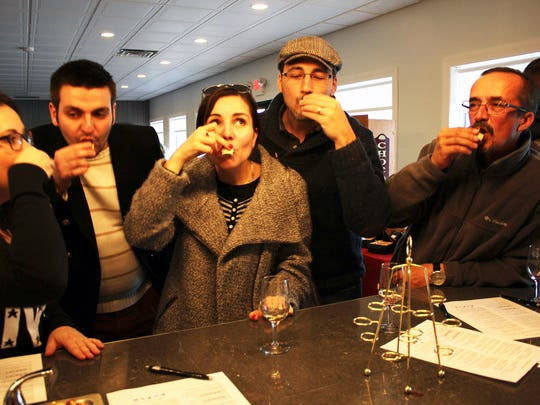 Wine and Chocolate Wine Trail Weekend at Old York Cellars last year.