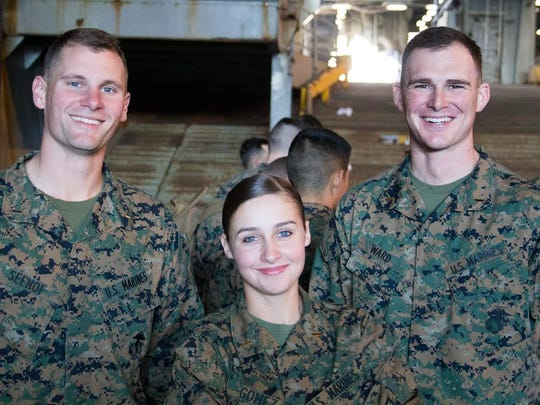 An amphibious ops day on board ship sets the stage