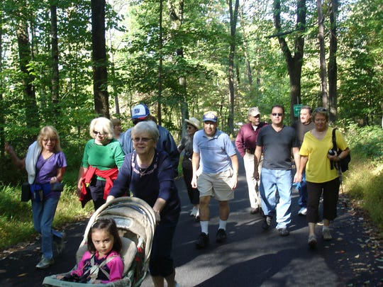 A weekly walking groupmeets at 9:30 a.m. every Wednesday at the Duke Island Visitor's Center, Bridgewater.