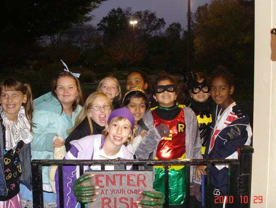 Ghouls and goblins enjoy activities at the Somerset