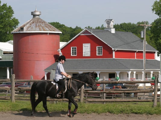 Spring riding lessons PHOTO CAPTION