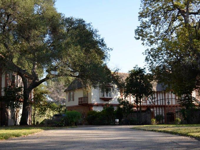 This historic home in La Cañada Flintridge, California,