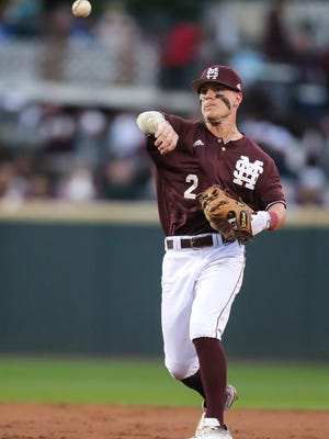 Mississippi State's Hunter Stovall has got off to a hot start at the plate.