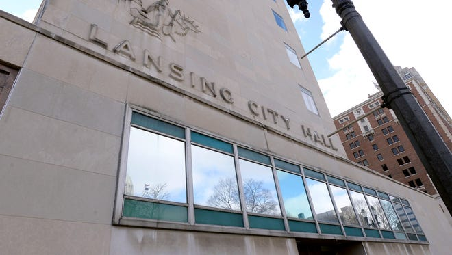 Lansing City Hall in downtown Lansing. City Council members consider the 2016 budget on Monday.