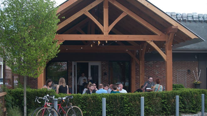 Keg & Kitchen has a popular beer garden in Westmont. Now, it is spreading the fun across the street to Haddon Square.