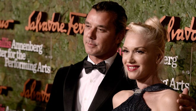 Gwen Stefani and Gavin Rossdale in October 2013.