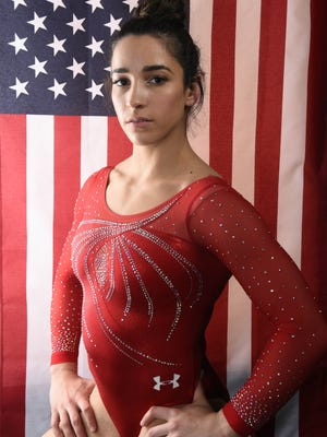 Aly Raisman poses for a portrait during the 2016 Team USA Media Summit.