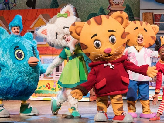 """Daniel Tiger's Neighborhood Live"" is part of New Jersey Performing Arts Center's 2017-18 season."