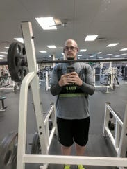 Richard Brownley after losing more than 200 pounds.