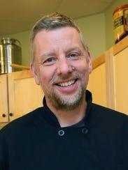 Dave Swanson, chef-owner of Braise Restaurant, makes