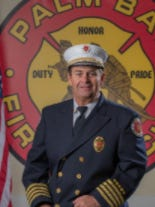 Deputy Chief Keith Grice retired from Palm Bay Fire Rescue after 30 years of service.