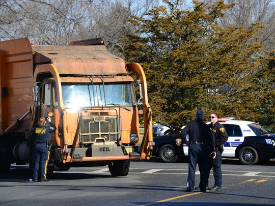 Cresskill Police and Bergen County Sheriff are conducting an investigation of a woman being struck by a Bergen County garbage truck at the traffic circle on Knickerbocker Road and Madison Avenue in Cresskill Friday morning.