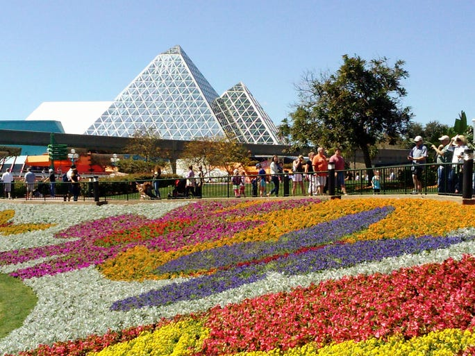 We checked in to this year's colorful Epcot Flower & Garden Festival and here are some of the must-sees. HGTV is sponsoring the Orlando event, which runs through May 18 at Walt Disney World Resort.