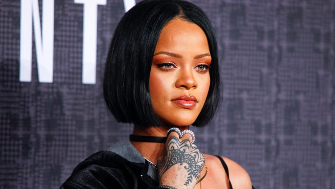 Rihanna will perform Friday at Bridgestone Arena.