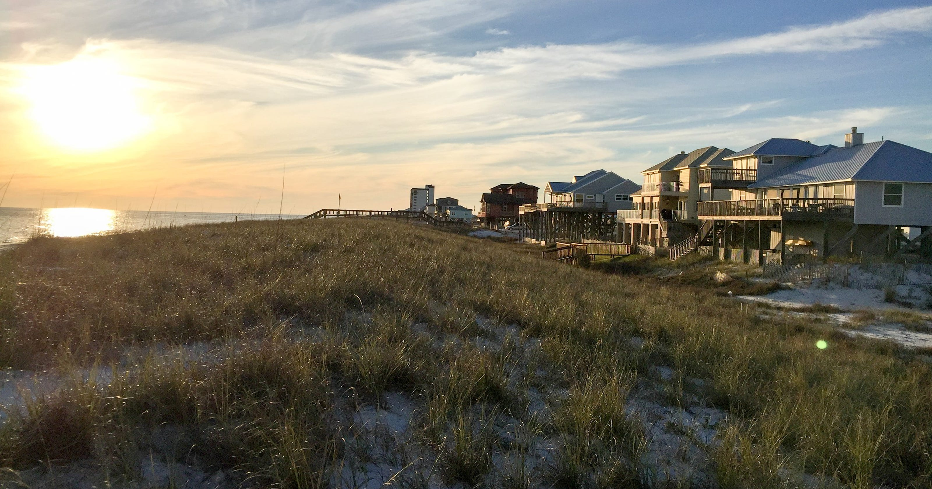 Solitude, spring breakers can both be found in Florida Panhandle