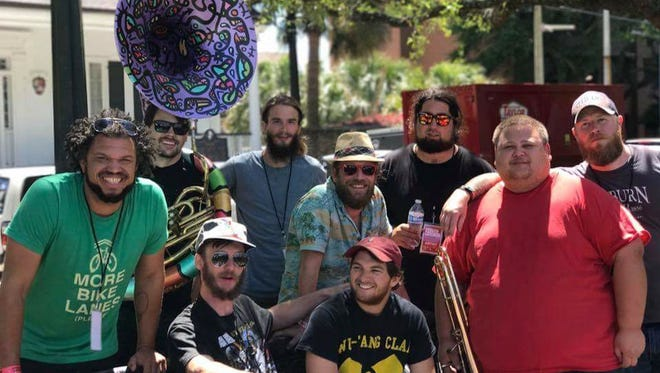 Blackwater Brass will perform at this week's Live at Five at Town Square Park.