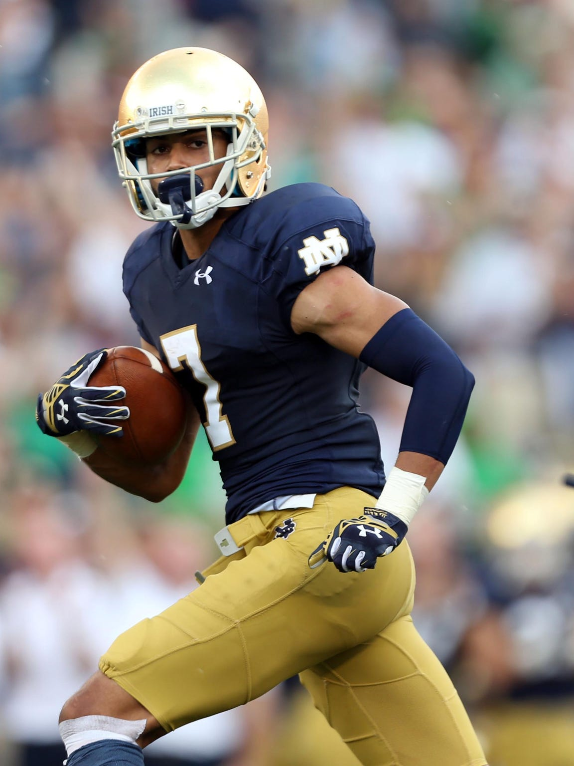 Notre Dame wide receiver Will Fuller