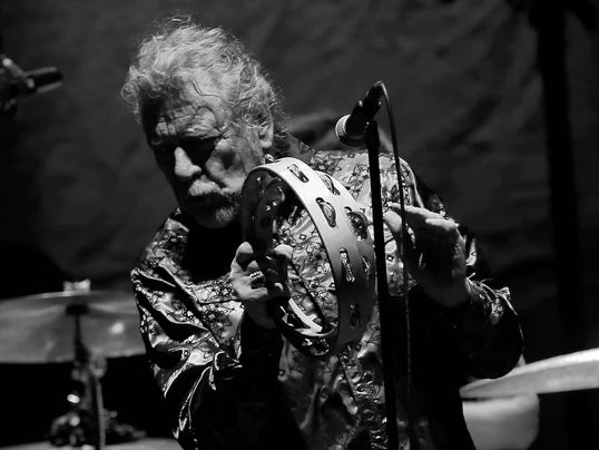 Robert Plant at Phoenix Symphony Hall