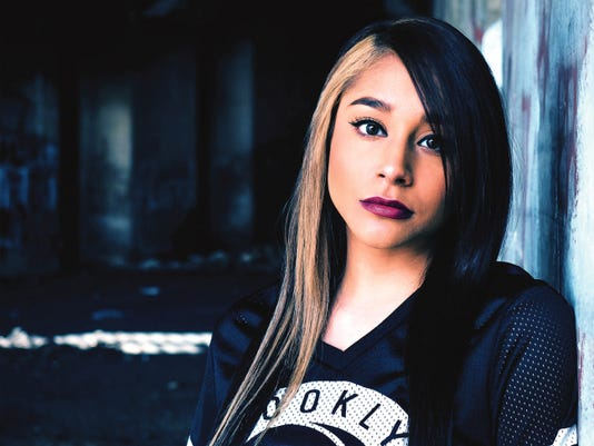 """""""I'm not here to be fake or try to be someone else, this is really me, this is who I am,"""" hip-hop newcomer Krystall Poppin said."""