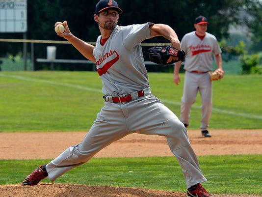 Manchester pitcher Jason Kelly got the win on Sunday vs. Jefferson, allowing one run in six innings.