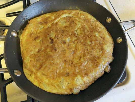 Take a potato omelet to a potluck and you're liable to come home empty-handed.