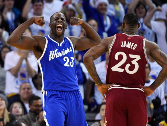 NBA: Cleveland Cavaliers at Golden State Warriors