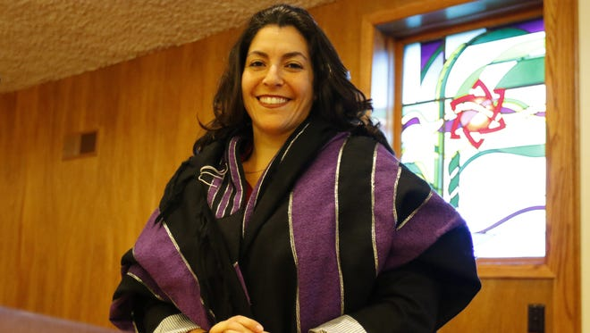 Rabbi Yael Dadoun is the interim spiritual leader for Mount Sinai Congregation in Wausau. Sept. 27, 2017