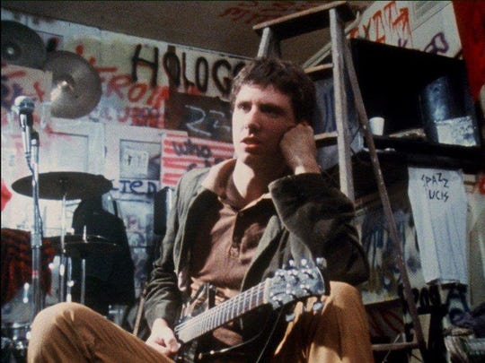 """Greg Ginn of the band Black Flag in """"The Decline of Western Civilization."""""""