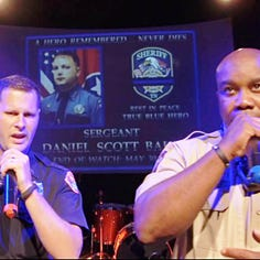Dickson's Sgt. Baker honored by Cheatham cop lip-syncing duo